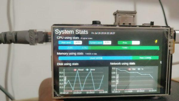 自制一个简易的电脑状态监视器